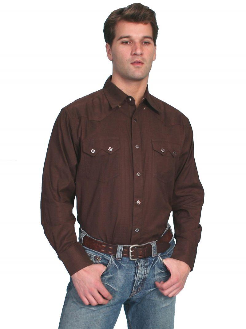 Westernová košile PS-007-BRN-XXL empty ce7a8651f4