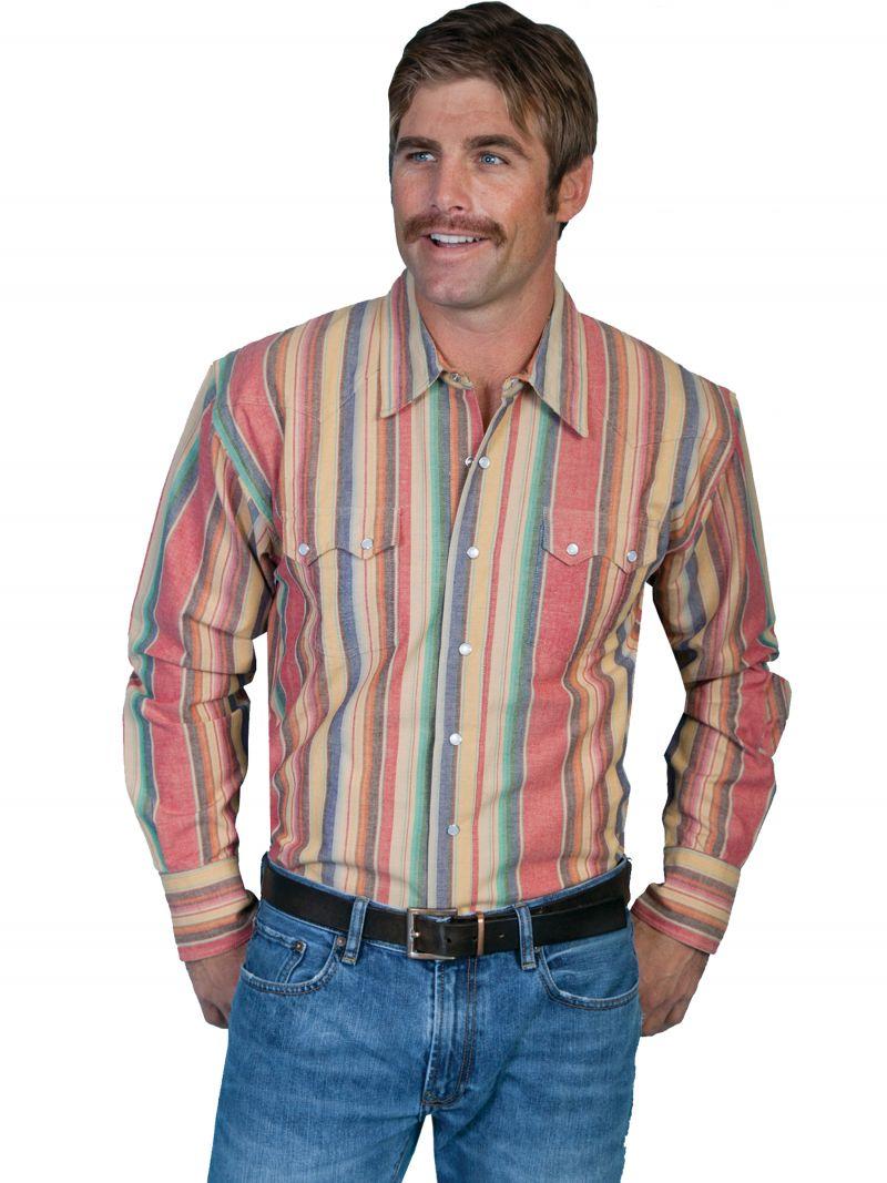 Westernová košile PS-033-RED-XXL empty 16cd3f0ac7