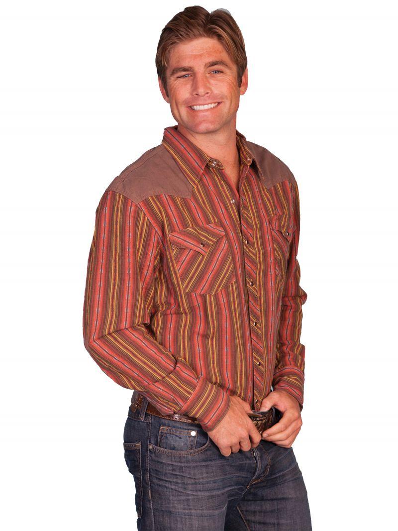 Westernová košile PS-204-RED-XXL empty 9c5b401cc6