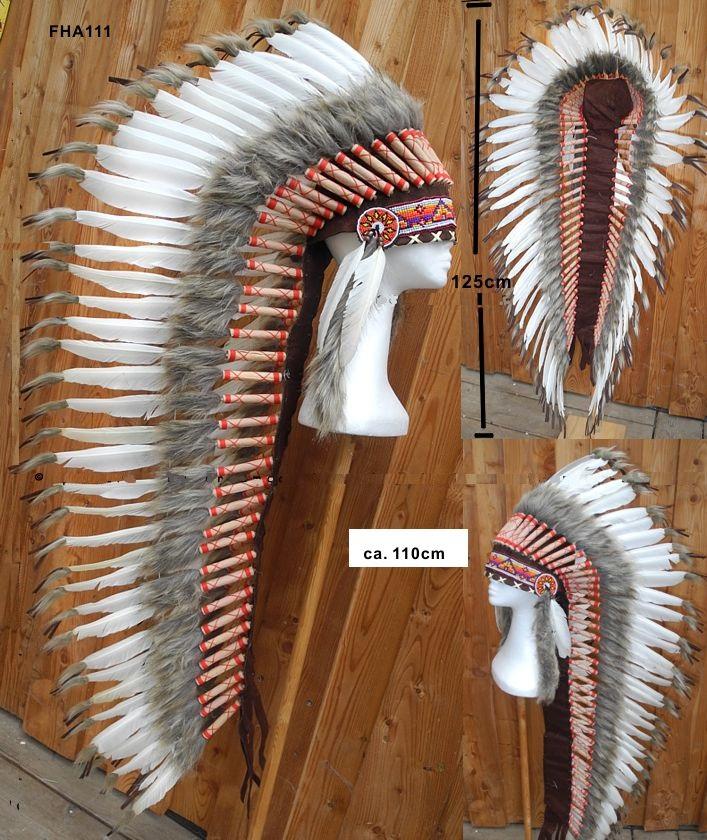 948f0c8684e Indiánská čelenka extradlouhá